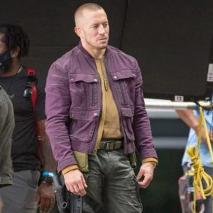 Georges St-Pierre The Falcon and the Winter Soldier Batroc Jacket 40% off