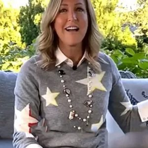 Good Morning America Lara Spencer Star Sweaters