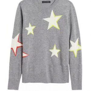 Good Morning America Lara Spencer Star Sweater