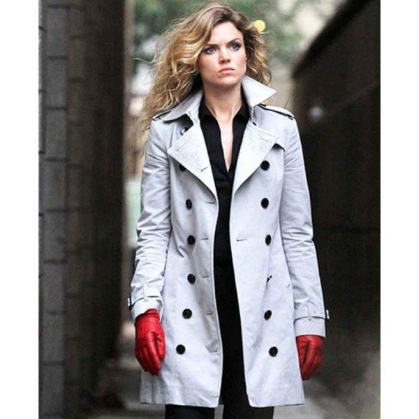 Gotham Barbara Kean White Coat2
