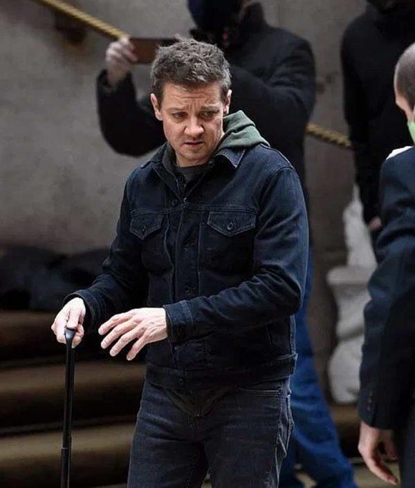 Hawkeye Jeremy Renner Black Jackets