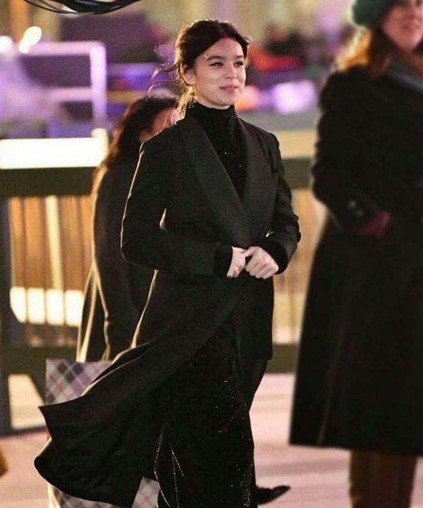 Hawkeye Kate Bishop Black Trench Coats