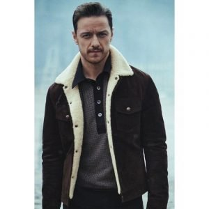 James McAvoy Suede Jacket | His Dark Materials Lord Asriel Leather Jacket