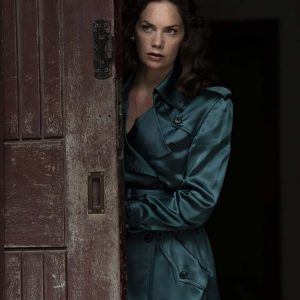 Ruth Wilson Trench Coat | His Dark Materials Mrs Coulter Coat