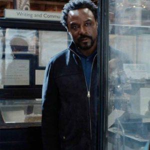 Ariyon Bakare Leather Jacket | His Dark Materials S02 Carlo Boreal Jacket
