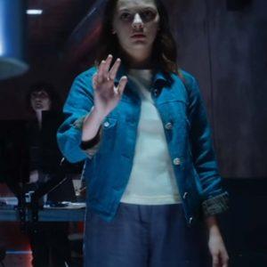 Lyra Belacqua Denim Jacket | His Dark Materials S02 Dafne Keen Jacket