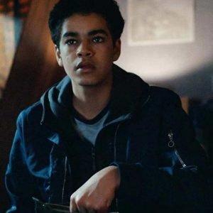 Will Parry Jacket | His Dark Materials Amir Wilson Blue Cotton Jacket