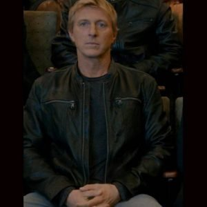 Johnny Lawrence Leather Jacket | Cobra Kai Season 3