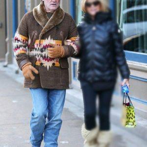 Kurt Russell Shearling Coats