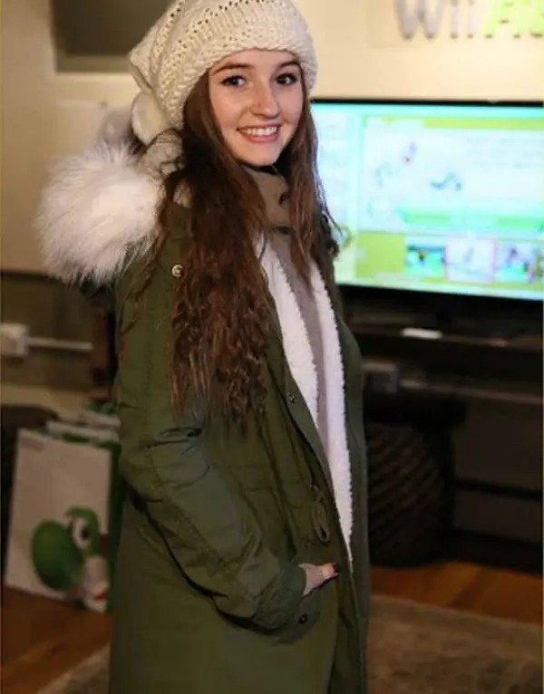 Last Man Standing Eve Baxter Green Jacket with White Trim