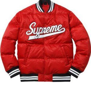 Men's Puffy Varsity Jacket2