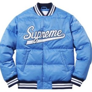 Men's Puffy Varsity Jacket