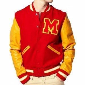 Michael Jackson Red Varsity Jackets