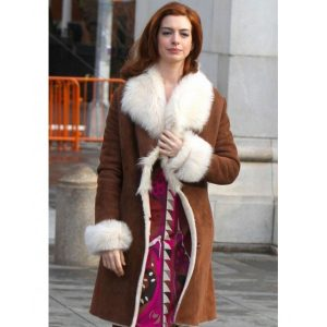 Modern Love Anne Hathaway Brown Coats
