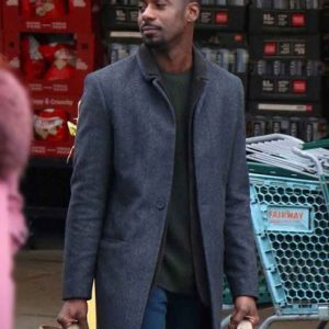 Jeff Modern Love Gary Carr Grey Wool Coat