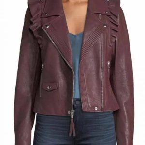 Last Man Standing Molly McCook Moto Leather Jacket