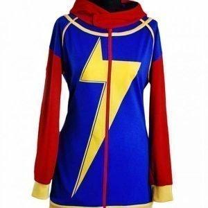 Ms. Marvel Costume Hoodie Iman Vellani Cosplay Hoodie