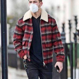 Nick Jonas Street Style Jacket