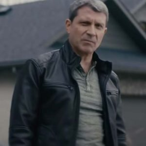 Nobody 2021 Jim Leather Jacket | Paul Essiembre Nobody Black Jacket