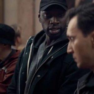 Omar Sy Lupin 2021 Jacket | Arsene Lupin Black Jacket