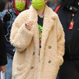 Only Murders In The Building Selena Gomez Fur Coats