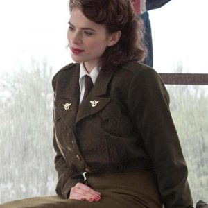 Captain America The First Avenger Peggy Carter Coat