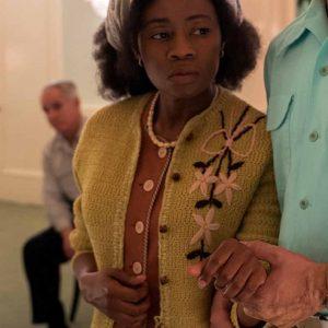 Liz Femi Sweater | Ratched Patient Leona Green Woolen Sweater