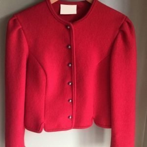 Red Christmas Tyrolean Jackets