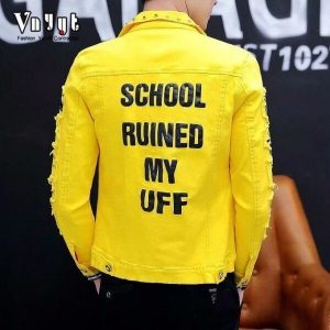 School Ruined My Uff Jackets