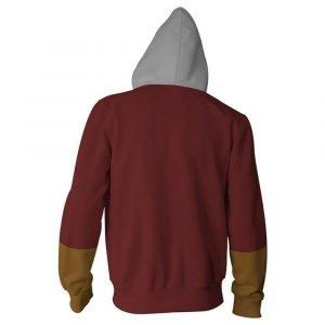 Shazam Front Logo Hoodie