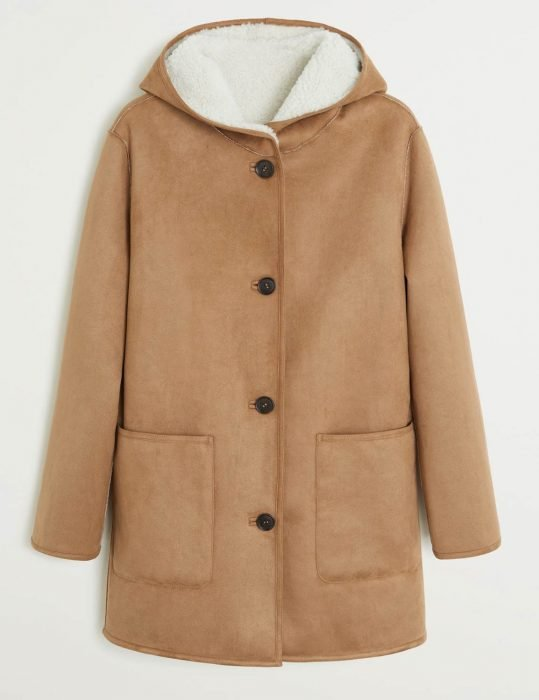 Sienna Miller Shearling Coats