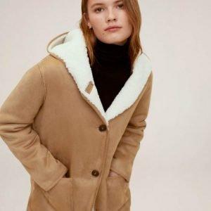 Sienna Miller Shearling Coat