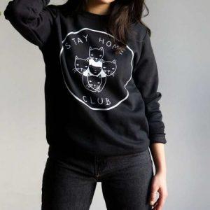 Buy Stay at Home Club Sweatshirt | Stay Home Club Sweatshirt Sale