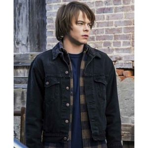 Stranger Things Charlie Heaton Denim Jacket | Jonathan Byers Jacket