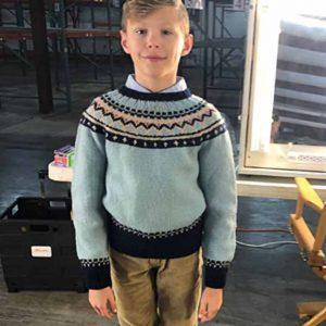 Movie The Eyes of Tammy Faye 2021 Kid Woolen Sweater