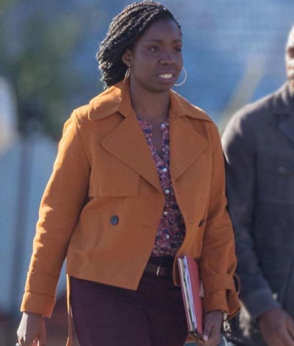 The Falcon And The Winter Soldier Adepero Oduye Cotton Jacket | Sale Price