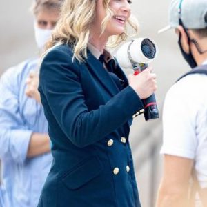 Emily VanCamp The Falcon and the Winter Soldier Sharon Carter Blazer Coat