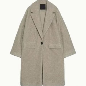 Zosia Mamet Sher[a Coat from The Flight Attendant | Free Shipping