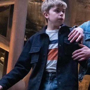 The Hardy Boys Joe Hardy Blue Jacket | Alexander Elliot Jacket