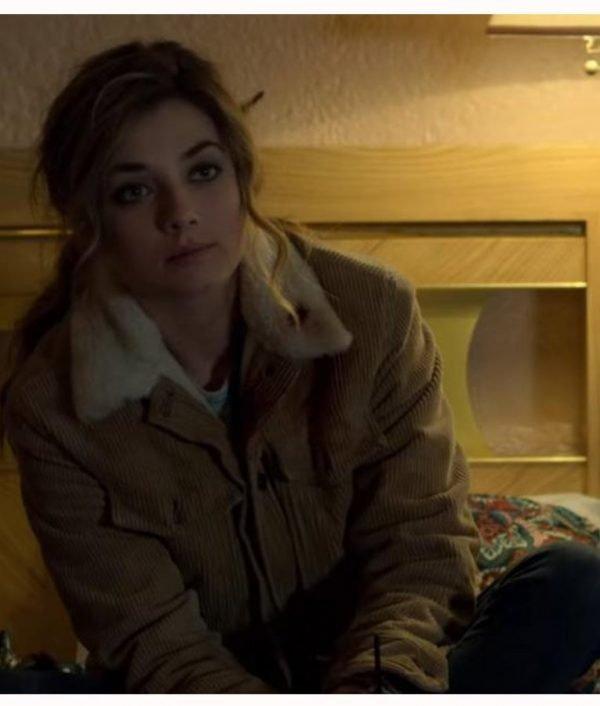 Amy Bendix The Punisher 2 Giorgia Whigham Corduroy Shearling Jacket