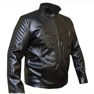 The Punisher Frank Castle Leather Jacket