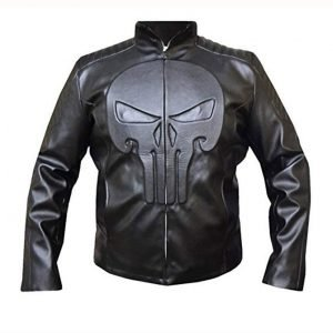 Jon Bernthal TV-Series The Punisher Frank Castle Leather Jacket