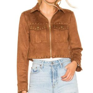 Mariah Copeland Suede Leather Jacket - The Young and the Restless