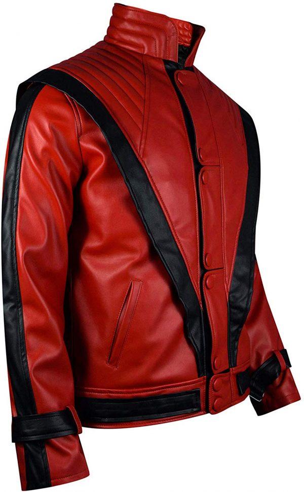 Michael Jackson Thriller Red Jacket on Hit Jacket