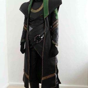 Loki Mini TV Series Tom Hiddleston Costume