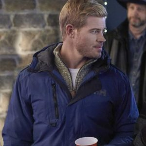 Trevor Donovan Two For The Win Justin Blue Jacket with Hood