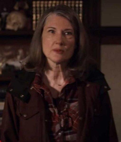 Annette O'Toole Brown Coat | Virgin River Hope McCrea Coat