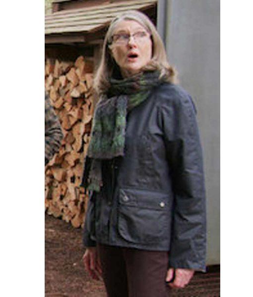 Annette O'Toole Virgin River Jacket | Hope McCrea Black Cotton Jacket