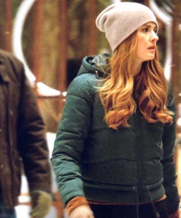 Melinda Monroe Virgin River Season 02 Puffer Jacket with Hood