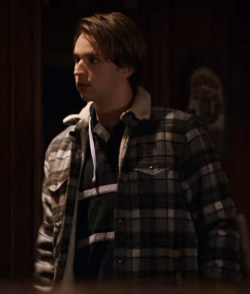 Grayson Maxwell Gurnsey Plaid Jacket | Virgin River S02 Ricky Plaid Jacket